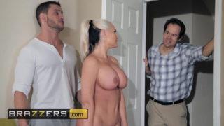 Kocasını yeni komşusuyla aldatıp sikişti